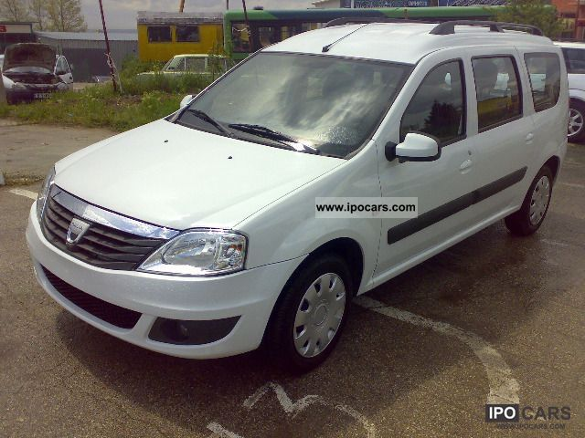view of dacia logan 1 6 mcv photos video features and. Black Bedroom Furniture Sets. Home Design Ideas