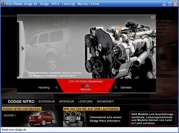 Dodge Nitro 2.8I CRD SXT Automatic