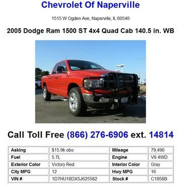 Dodge Ram 1500 Crew Cab 4x4 ST