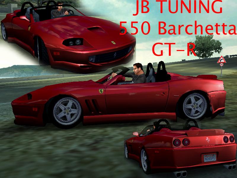 Ferrari Barchetta 550