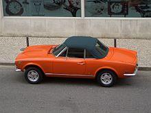 Fiat 124 2000 Europa (124DS)