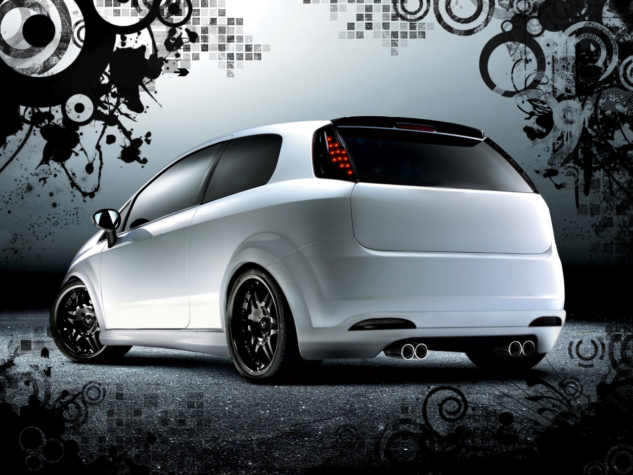 Photos Of Fiat Grande Punto Abarth Photo Tuning Fiat Grande Punto Abarth 06 Jpg Gr8autophoto Com