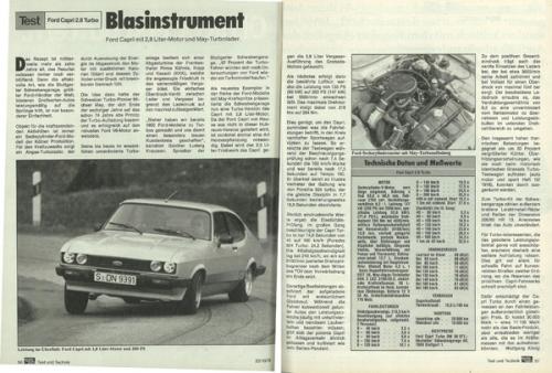 Ford Capri 2.8