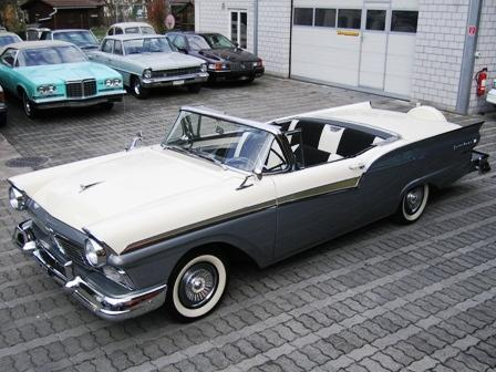Ford Fairlane Retractable