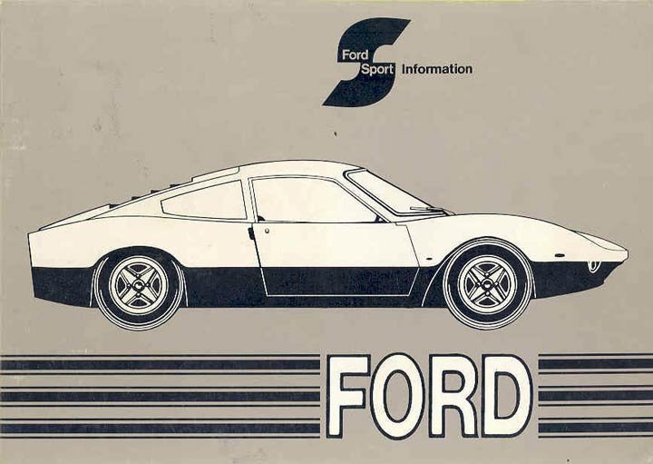 Ford GT 70