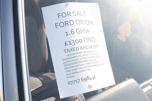 Ford Orion 1.6 L Automatic