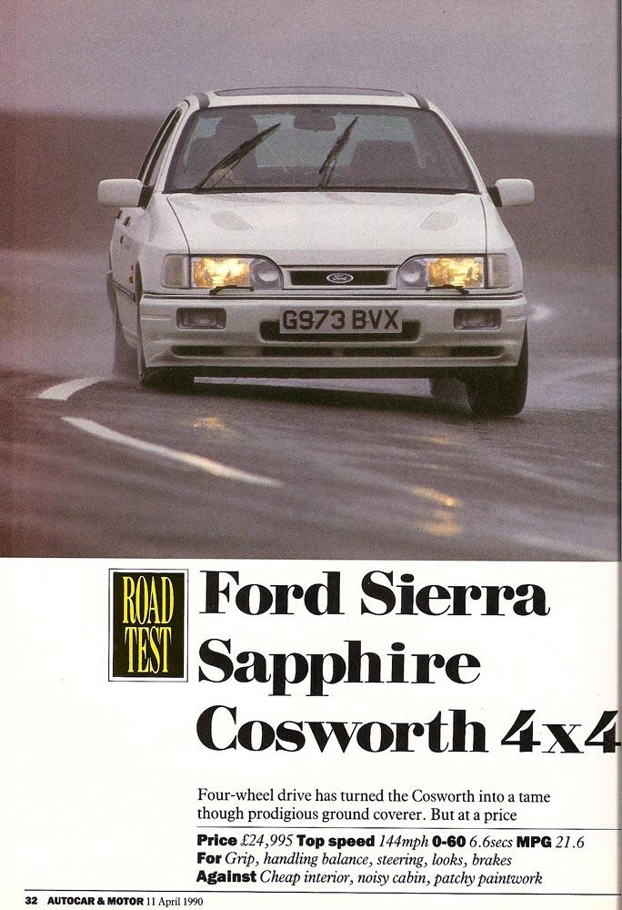 Ford Sierra 2.0 16V Cosworth 4x4 KAT