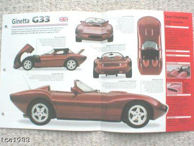 Ginetta G33
