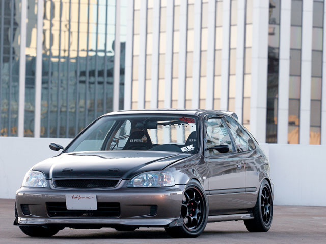 Honda Civic Coupe HX
