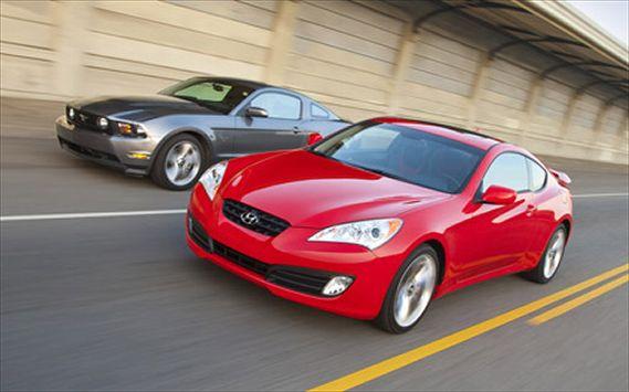 Hyundai Genesis Coupe 3.8 Track