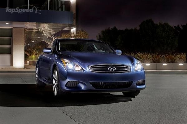 Infiniti G37 Coupe Journey