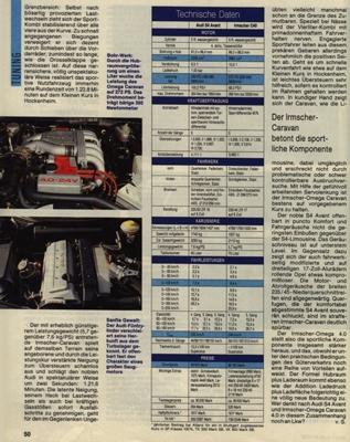 Irmscher Omega Caravan 4.0 i