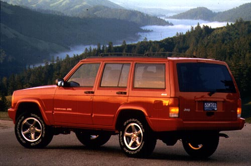 Jeep Cherokee 4.0 i 4WD MT