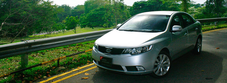 Kia Cerato 1.6 AT Prestige