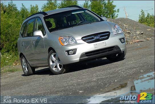 Kia Rondo EX V6