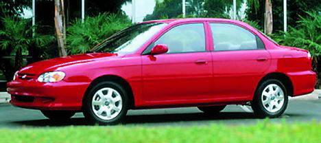 Kia Sephia 1.6 i 16V MT