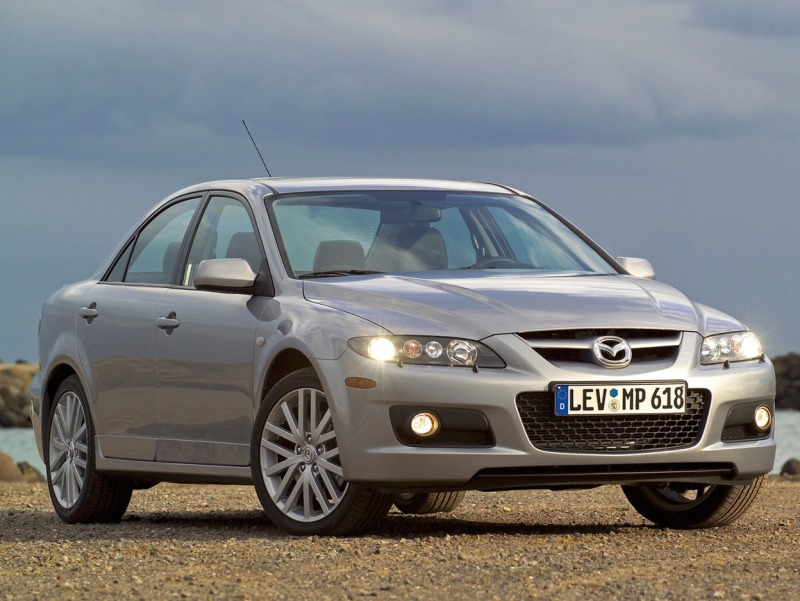 view of mazda 6 2 3 dynamic photos video features and tuning of vehicles. Black Bedroom Furniture Sets. Home Design Ideas