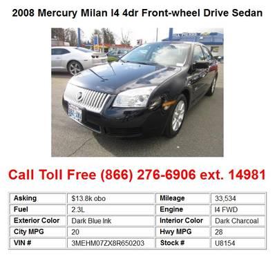 Mercury Milan I4