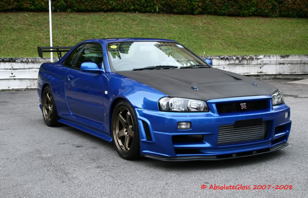 Nissan Skyline 2.0 i GTS AT