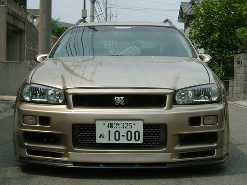 Nissan Stagea 2.5 V6 24V 4X4