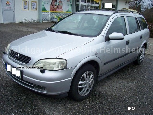 Opel Astra 2.0 DTI Caravan