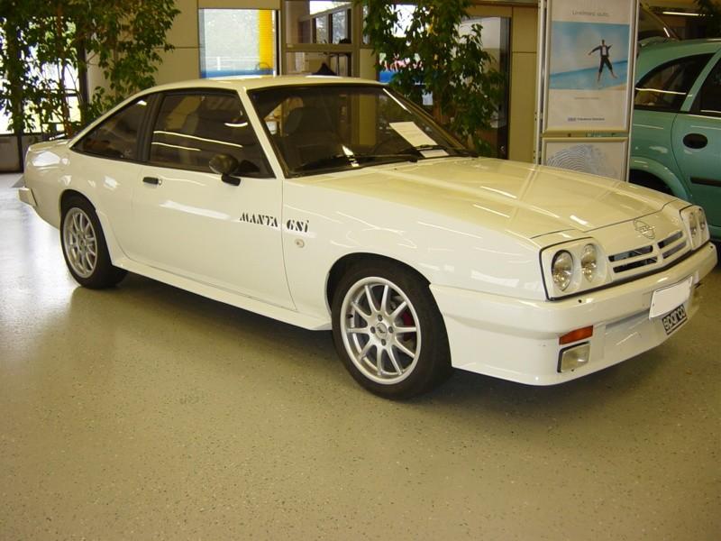 Opel Manta 2.0 GSI