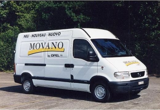 Opel Movano 2.5 D
