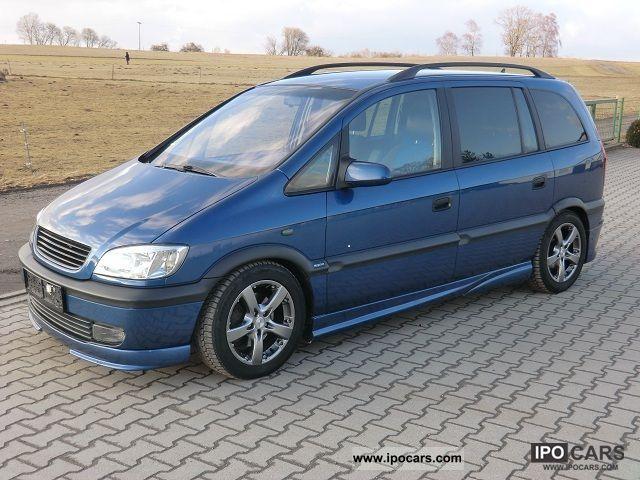 Opel Zafira 2.2 Elegance
