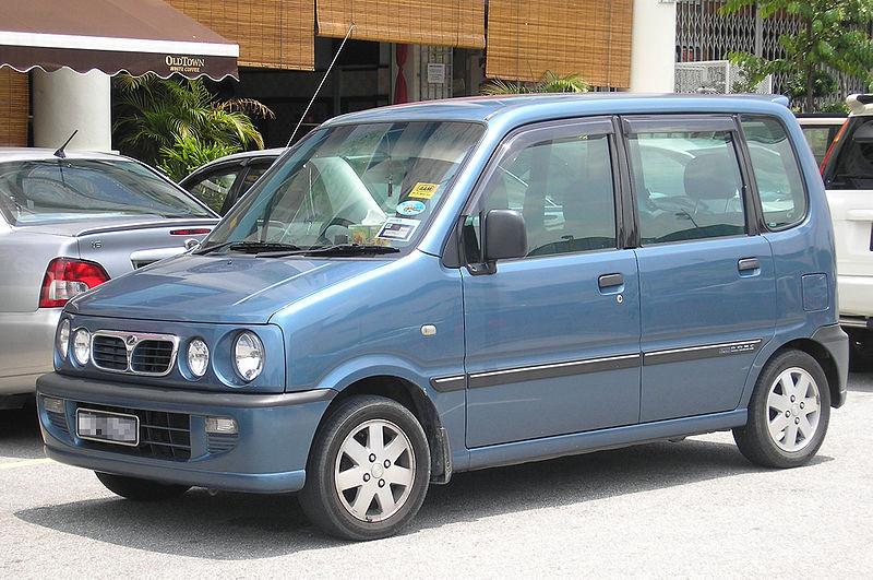 Perodua Kenari 1.0 i 12V AT