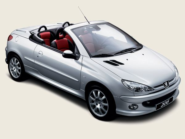 Peugeot 206 1.6 Coupe Cabriolet