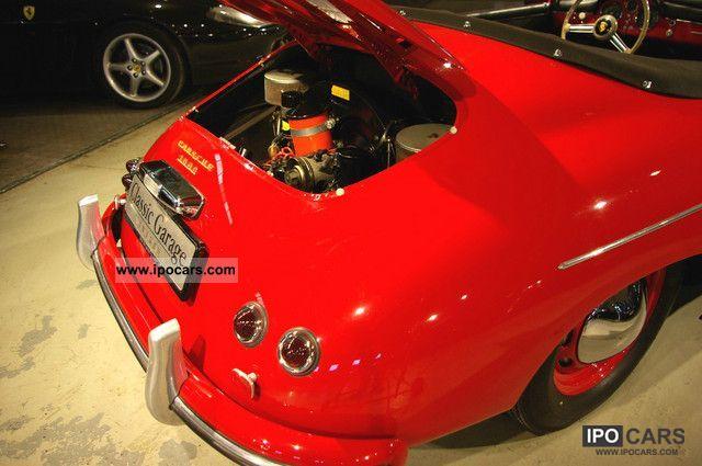 Porsche 356 A Speedster 1500