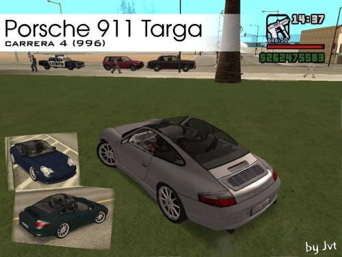 Porsche 911 Carrera 4 Targa