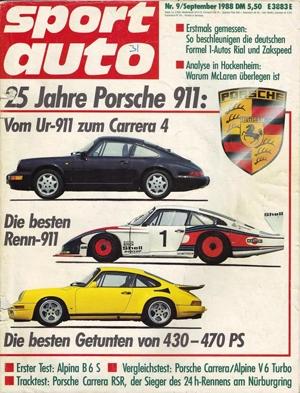 Porsche 911 RS Turbo