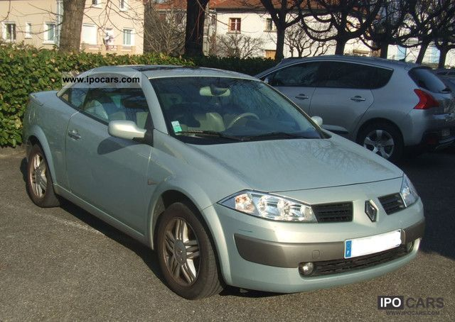 Renault Megane 2.0 Coupe Cabriolet Privilege