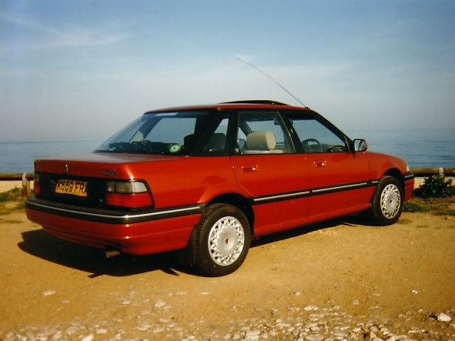 View of Rover Montego GSi. Photos, video, features and ...