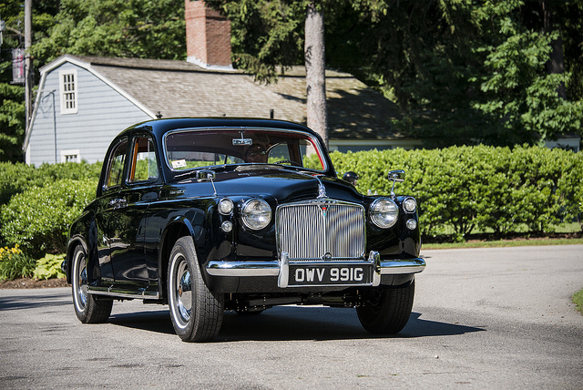 View of Rover P4 105R. Photos, video, features and tuning ...