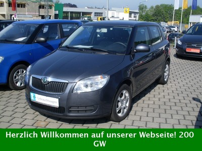 view of skoda fabia 1.4 16v ambiente. photos, video, features and