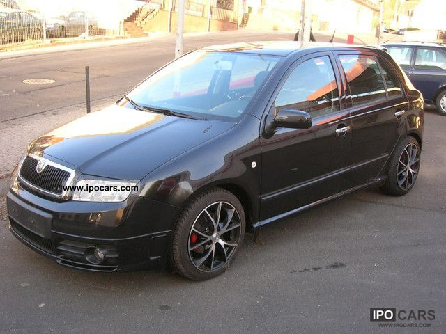 view of skoda fabia 1.4 classic. photos, video, features and tuning