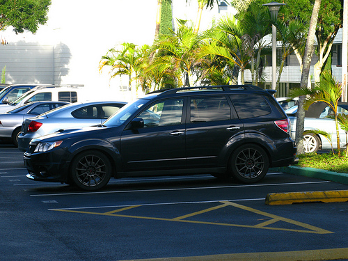 Subaru Forester 2.5T AT