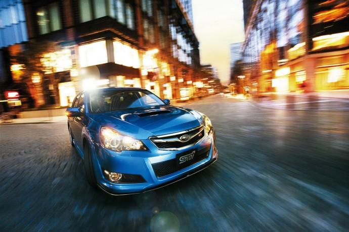 Subaru Legacy 2.5 GT Sedan