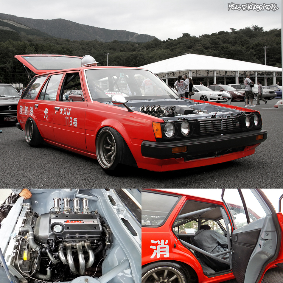 View Of Toyota Carina 1600 Break. Photos, Video, Features
