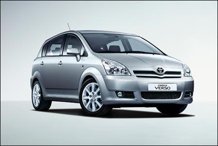 Toyota Corolla Verso 1.6 MT