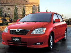 Toyota RunX 1.8 RSi