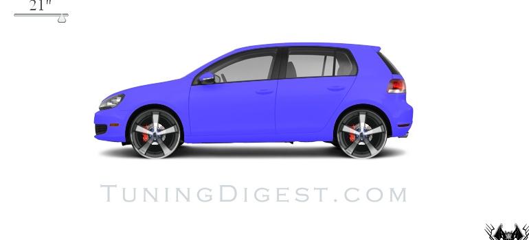 Volkswagen Golf 2.5 L