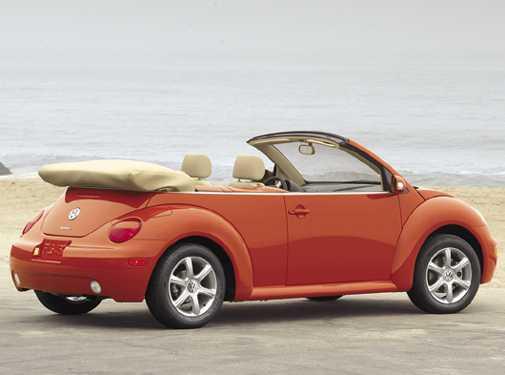 Volkswagen New Beetle GLS 2.0 L Convertible