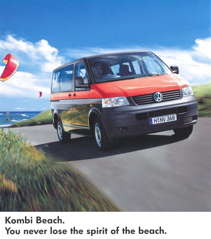Volkswagen T5 Kombi 2.5 TDi Long