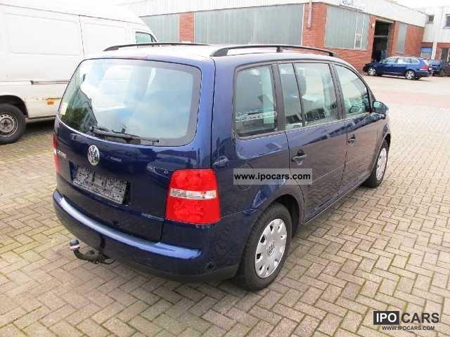 Volkswagen Touran 1.6 Conceptline