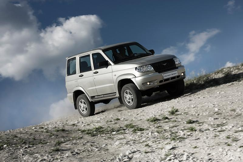 UAZ Patriot Sport 2.7 128hp MT