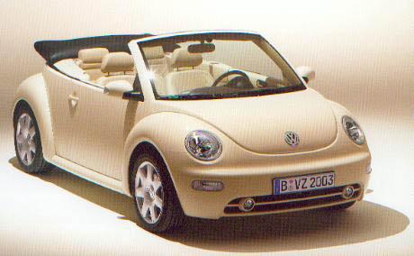 Volkswagen New Beetle Cabriolet 2.0