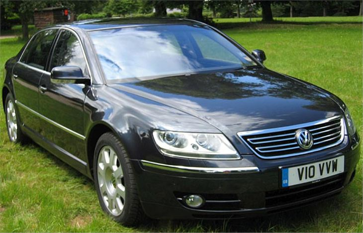 Volkswagen Phaeton 6.0 450hp 4 seats AT W12
